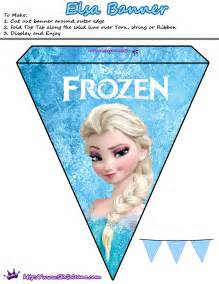 12 free frozen party printables saving design
