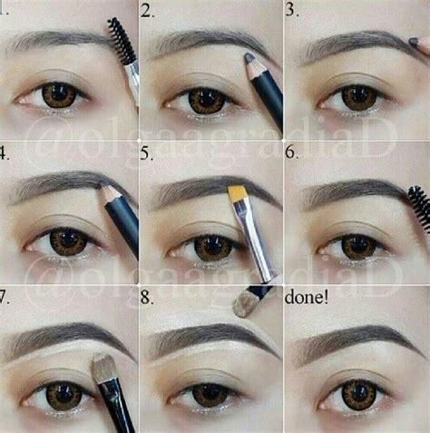 tutorial makeup shading eyebrow shading make me up pinterest