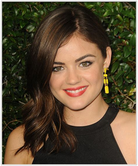 sqoval hair styles lucy hale hairstyles for a triangular or pear face shape