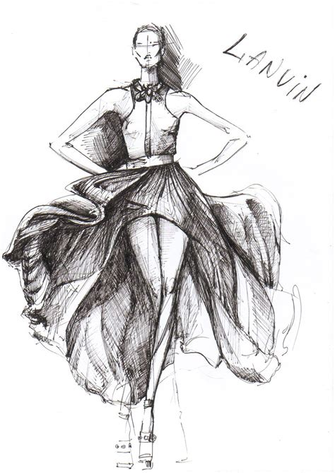 fashion design sketches of dresses foto 2014 2015