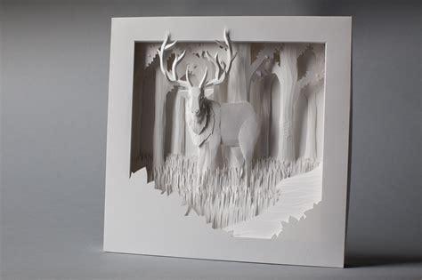 How To Make A Paper Sculpture - elk paper sculpture by nicholas lim at coroflot
