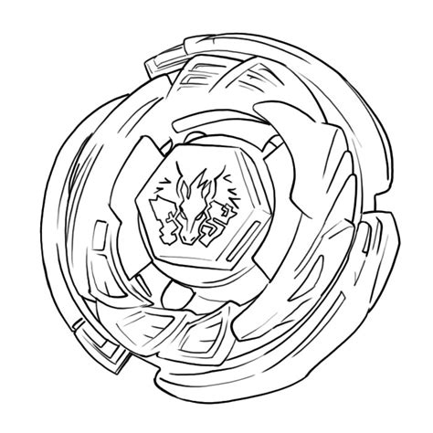 free printable beyblade coloring pages for