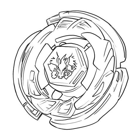 Coloriage Beyblade Pegasus A Imprimer Gratuit