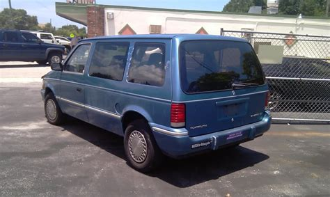 1993 plymouth voyager 1993 plymouth voyager overview cargurus