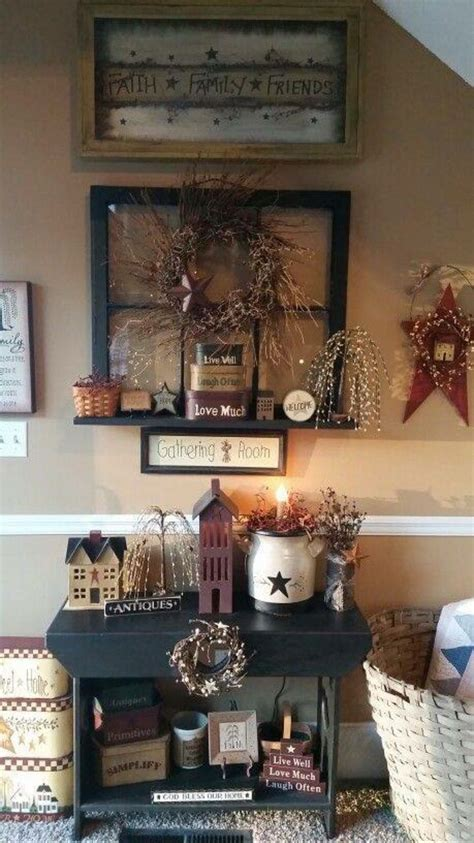 primitive home decor this look