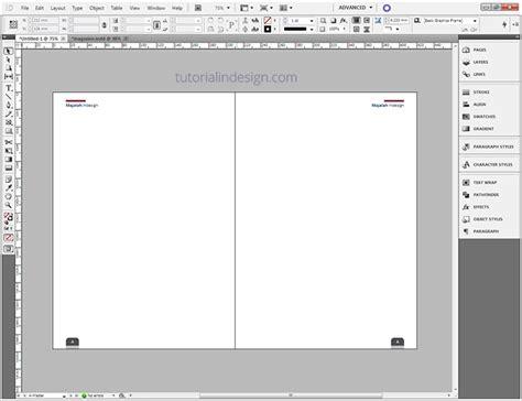 Layout Majalah Concept | cara membuat layout majalah sederhana dengan indesign