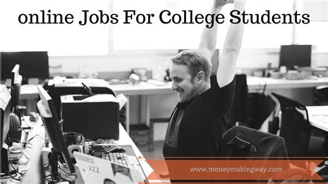 Money Making Jobs Online - desk jobs for college students best home design 2018