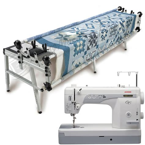 Sewing And Quilting Machines by Janome 1600p Qc Sewing Machine W Grace Gq Quilting Frame