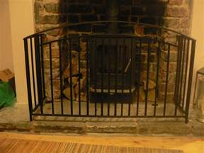 Metal Handrails Fire Guard