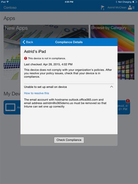 Office 365 Portal Android Explore The Built In Mobile Device Management Mdm