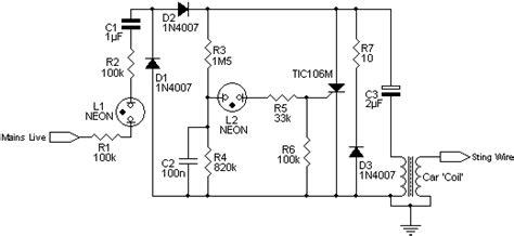 electric fencing circuit diagram electric fence circuit diagram wirdig readingrat net