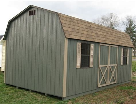 10 X 16 Wood Shed Kit With Floor - 10x16 barn wood shed kit