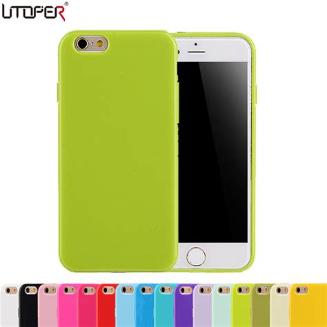 Iphone6 Softcase Motif Iphone Softcase Iphone Iphone soft plastic for iphone 6 rubber back skin for apple iphone 6s 4 7