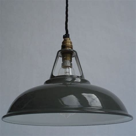 industrial pendant lights uk enamel workshop shade from historic lighting industrial