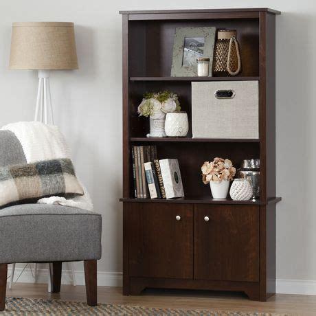 3 shelf bookcase with doors south shore vito 3 shelf bookcase with doors walmart canada