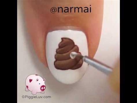 tutorial youtube poop poop emoji nail art tutorial youtube