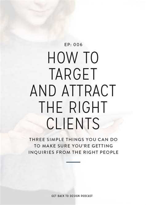 how to attract if you re not that attractive 10 for attracting if you re not that looking books 006 how to target and attract the right clients get