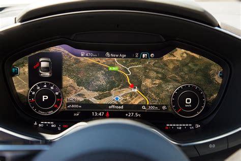 how cars run 2006 audi tt instrument cluster 2016 audi tt virtual cockpit shines even in sunlight horsepower online