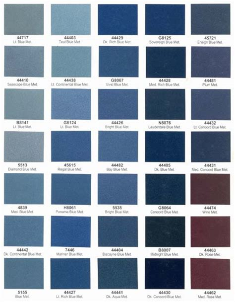 interior paint color chart blues pictures to pin on pinsdaddy