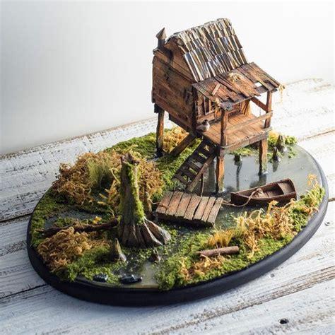 Homesteads For Sale by Miniature Diorama Swamp Bayou Art Landscape Miniature