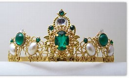Image result for Medieval Queens Crowns. Size: 264 x 160. Source: www.etsy.com