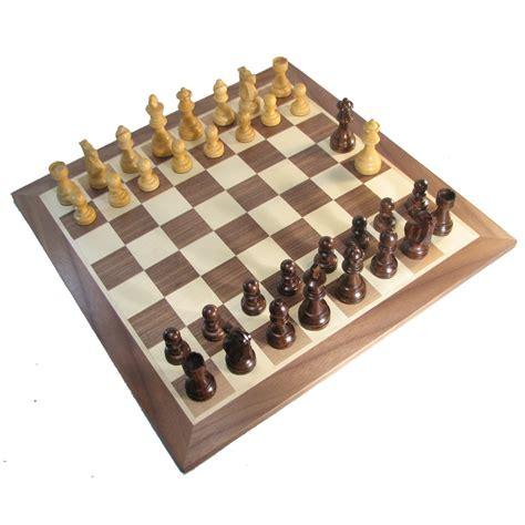 chess board walnut book style with staunton chessmen brown chess board walnut book style with staunton chessmen