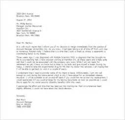 Resignation Letter Effective Immediately Due To Family 6 Resignation Letter Formats Website