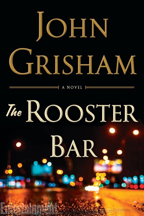title and synopsis of the new legal thriller by john grisham revealed the rooster bar