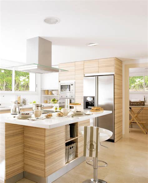 las  cocinas de madera mas calidas