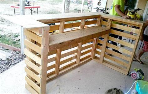 Design Your Own Home Inside And Out by Diy Pallet Bar Pallet Furniture Diy