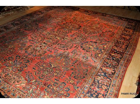 How Much Are Rugs by 9 X 12 Antique Sarouk Genuine Handmade Rug Circa 1920 S Rug