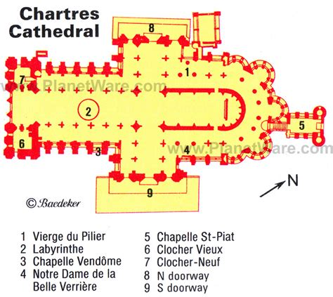 chartres cathedral floor plan 20 top tourist attractions in the loire valley