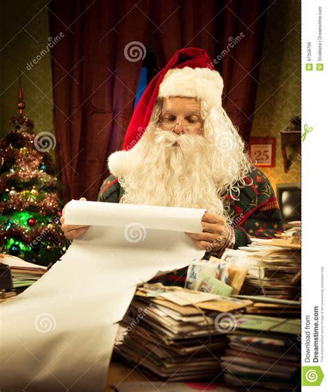 christmas list stock photo image 47358796