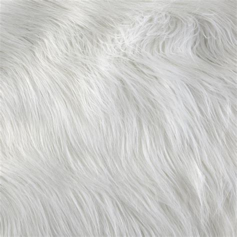 faux fur upholstery fabric shannon luxury faux fur monster white discount designer