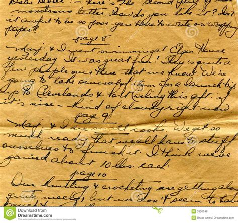 letter handwriting detail royalty free stock photos