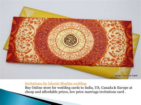 indian wedding cards canada muslim wedding card