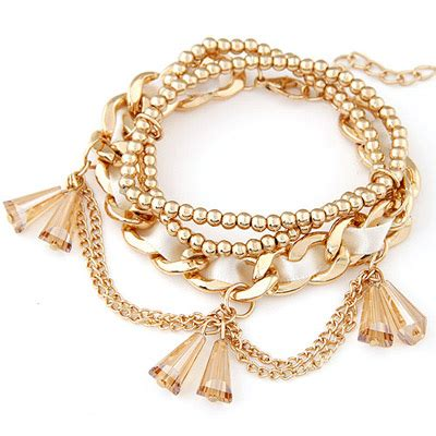Set Kalung Anting Korean Fashion Multilayer Design Studs Earring Necklace Jewelry Set Green delicate white decorated multilayer design alloy korean fashion bracelet asujewelry