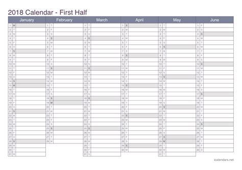 Calendã De Estudos Willian Douglas 2018 Printable Calendar Pdf Or Excel Icalendars Net
