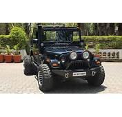 This 6 Wheeled Modified Mahindra Thar Is Pure MENACE