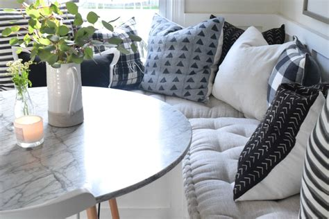 banquette pillows cushions for banquette and window seat best online