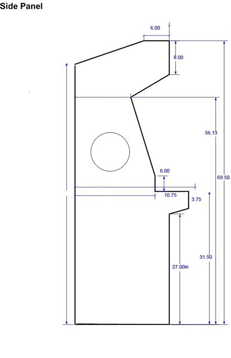 size arcade cabinet plans arcade cabinet dimensions cabinets matttroy