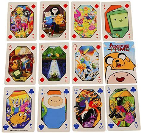 cards adventure time adventure time cards bundle of 4 decks 2 styles