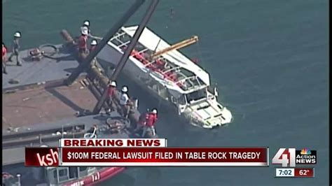 duck boat kansas city tragedy at table rock 100m lawsuit filed on behalf of