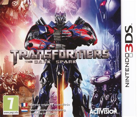 Kaset 3ds Transformers Rise Of The Spark transformers rise of the spark sur nintendo 3ds jeuxvideo