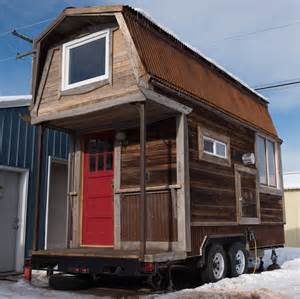 Gambrel Roof Hayseed Tiny Houses Tiny House Swoon