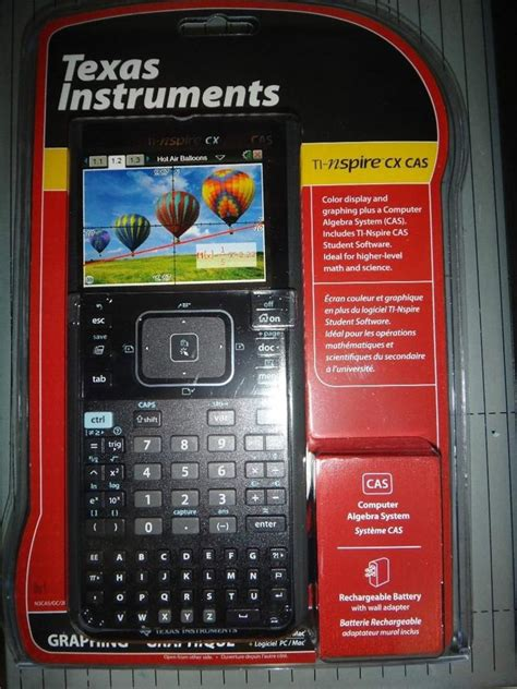 texas instruments nspire cx cas texas instruments ti nspire cx cas graphing calculator ebay
