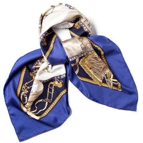 pre owned hermes scarf wrap 275 liked on polyvore