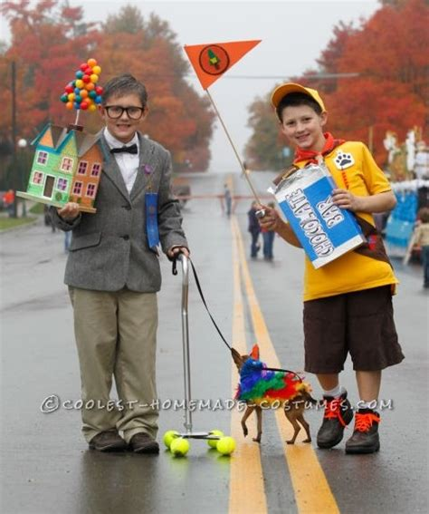 film dress up cool homemade costumes for kids characters from disney s quot up quot