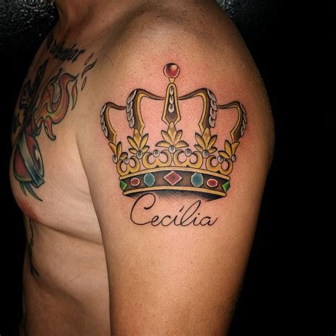 tattoos crown 55 best king and crown designs meanings