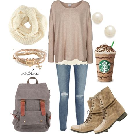 Cute and Comfy Fall  Outfit   Polyvore
